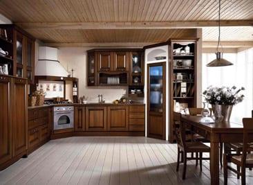 Etrusca מטבח בסגנון כפרי
